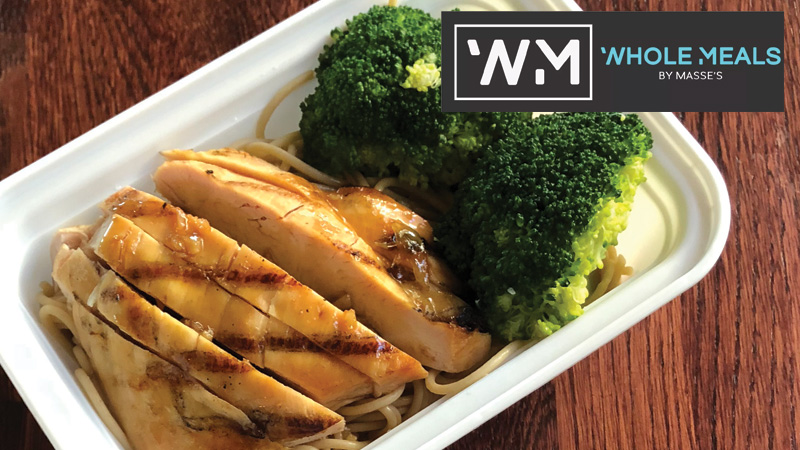 Chicken Hibachi Whole Meals by Masse's