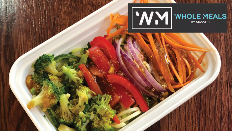 Whole Meals by Masse's Veggie Hibachi