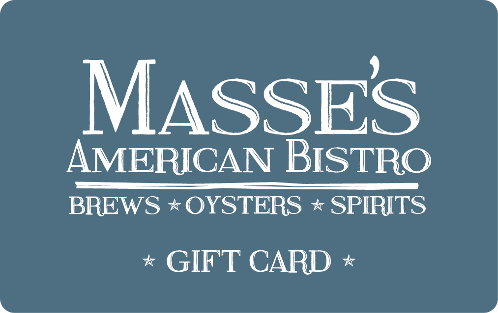 Masse's American Bistro gift card